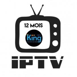 Abonnement 12mois KING365TV