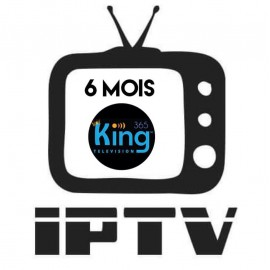 Abonnement 6mois KING365TV