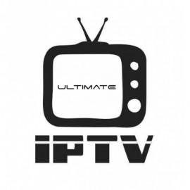 Abonnement 12  Mois ULTIMATE TV double connexion